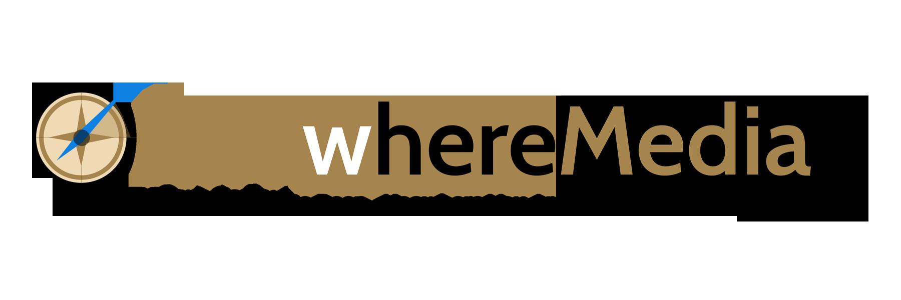 Knowhere Media Slider Logo with Tagline